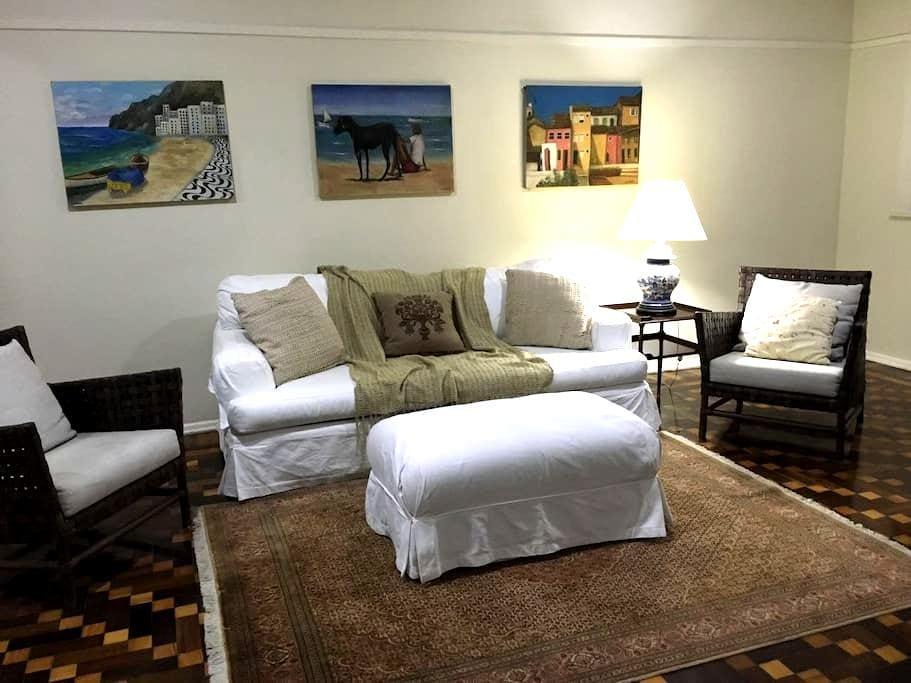 Amplo 3 quartos a um quarteirão da praia - 里約熱內盧 - 公寓
