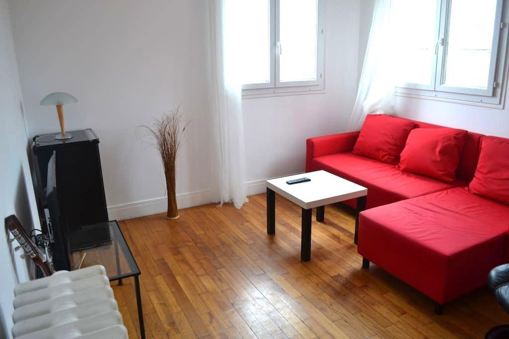 Cosy flat near Paris - Arcueil - Appartement