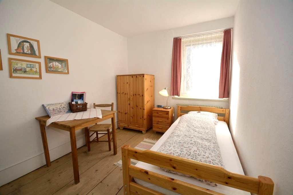 Schöntal Einbettzimmer - Filisur - Bed & Breakfast