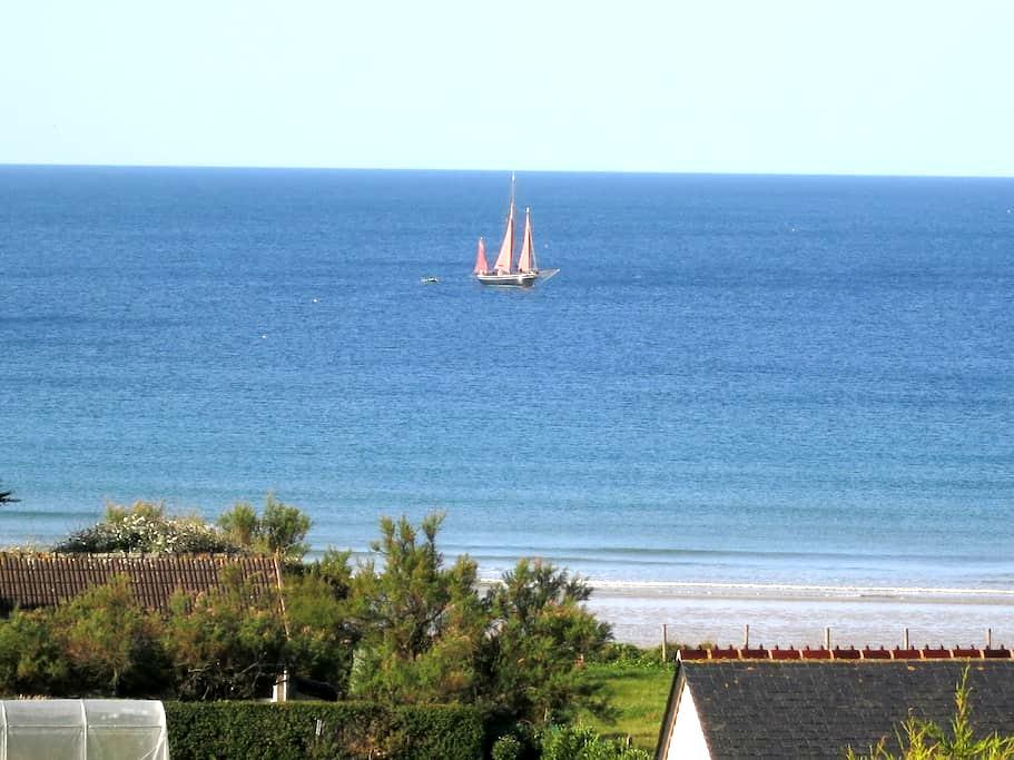 tout confort bord de mer, vue mer - Les Pieux - Haus