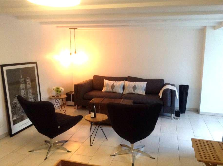 Lovely apartment with beach acces - Køge - House