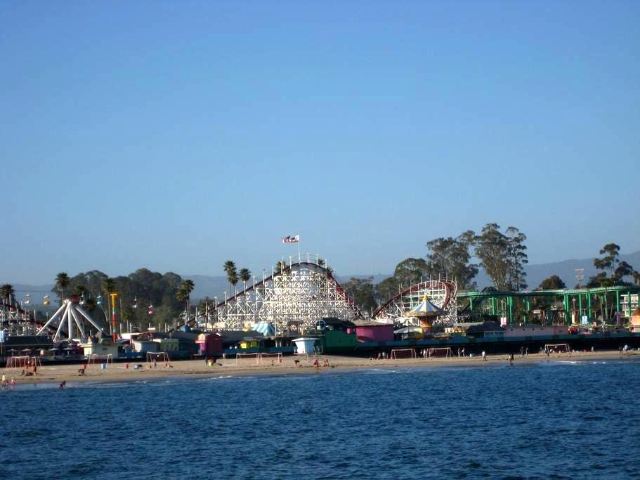Charming Studio Close to Beach - Santa Cruz - Flat
