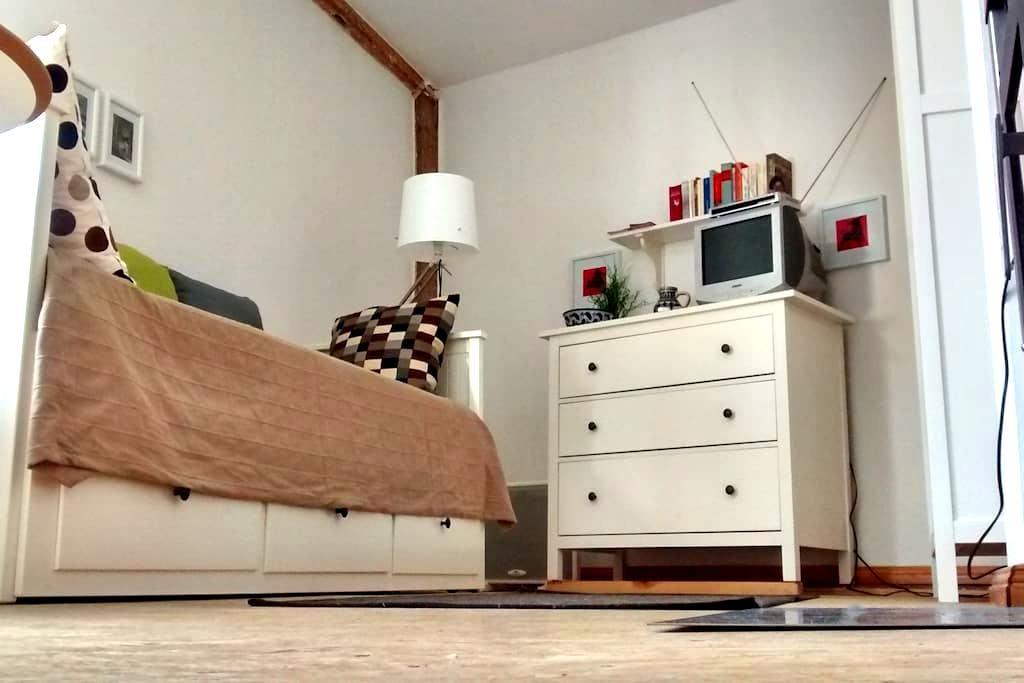 Schicke Wohnung in lauschigem Hof - Halle (Saale) - Departamento