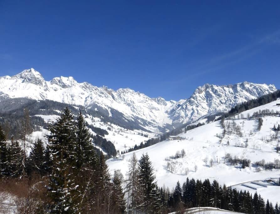 TRAUMAUSBLICK Ferienwohnung Maria Alm - Hintermoos - Zell am See - Huoneisto