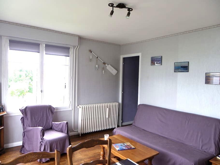 La maison du marin, hauteur de Dieppe : Bonsecours - Dieppe - Haus
