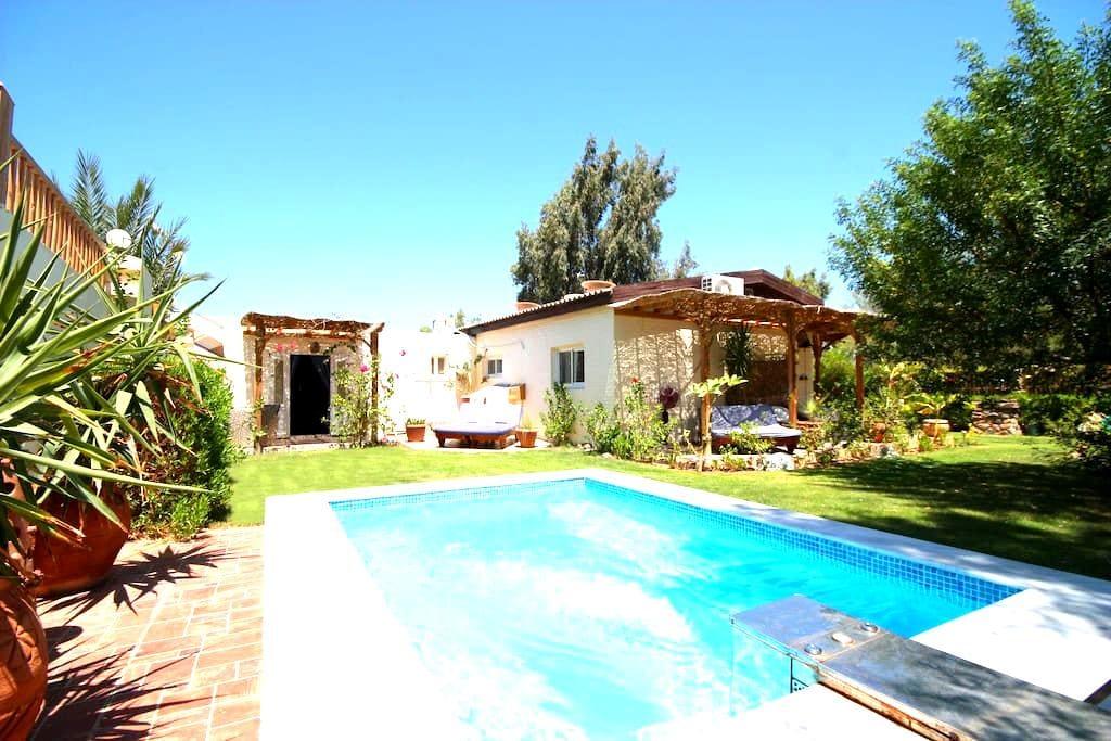 Seahorse Apt-Lagoon Villa with wifi & Jacuzzi pool - Qesm Saint Katrin - Appartement