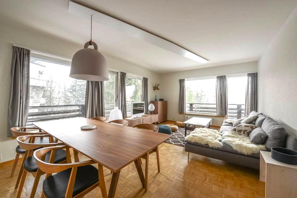 bel appartement contemporain - Montana - Huoneisto