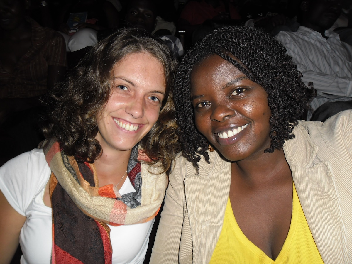 Renske And Angella from Kampala