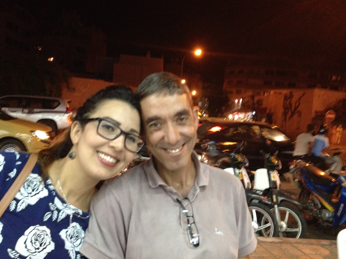 Karima E Carlos From Marrakesh, Morocco