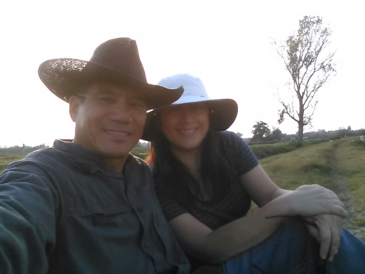 John & Janet from Sanger
