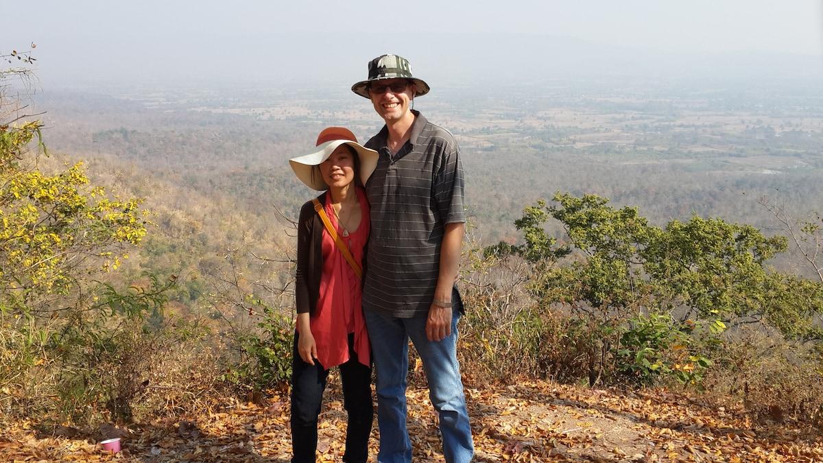 John And Tai from Loei, Thailand