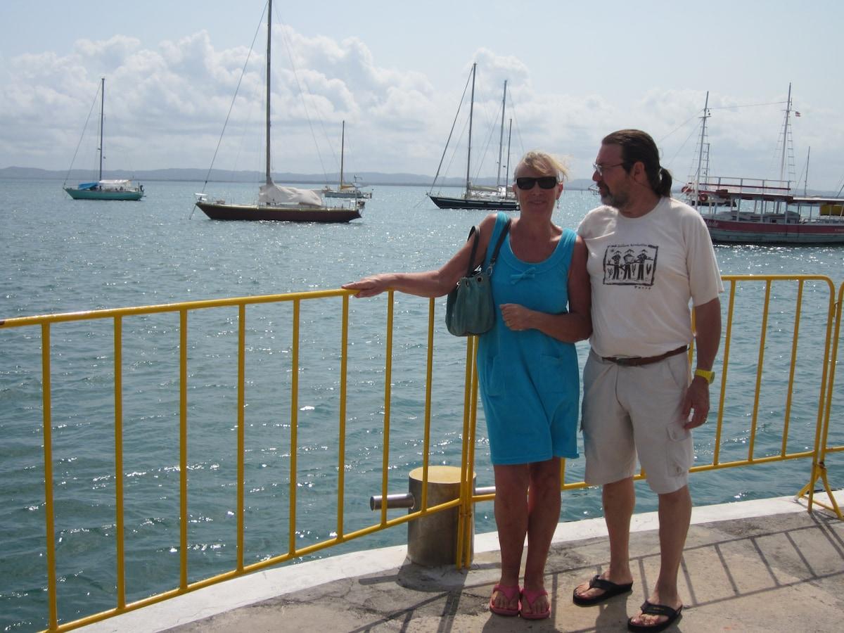 Kathy , Stéphane From Itaparica, Brazil