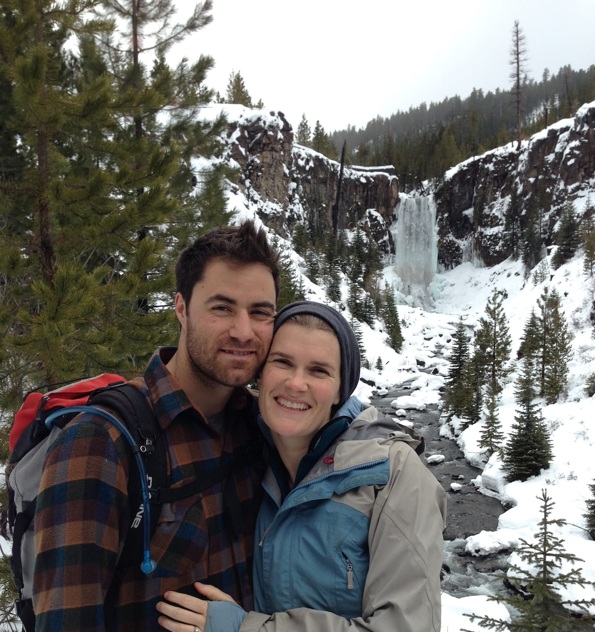 My wife Jessica and I settled in Bend after years