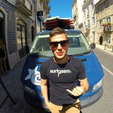 I love to surf, I'm a student from Slovenia living