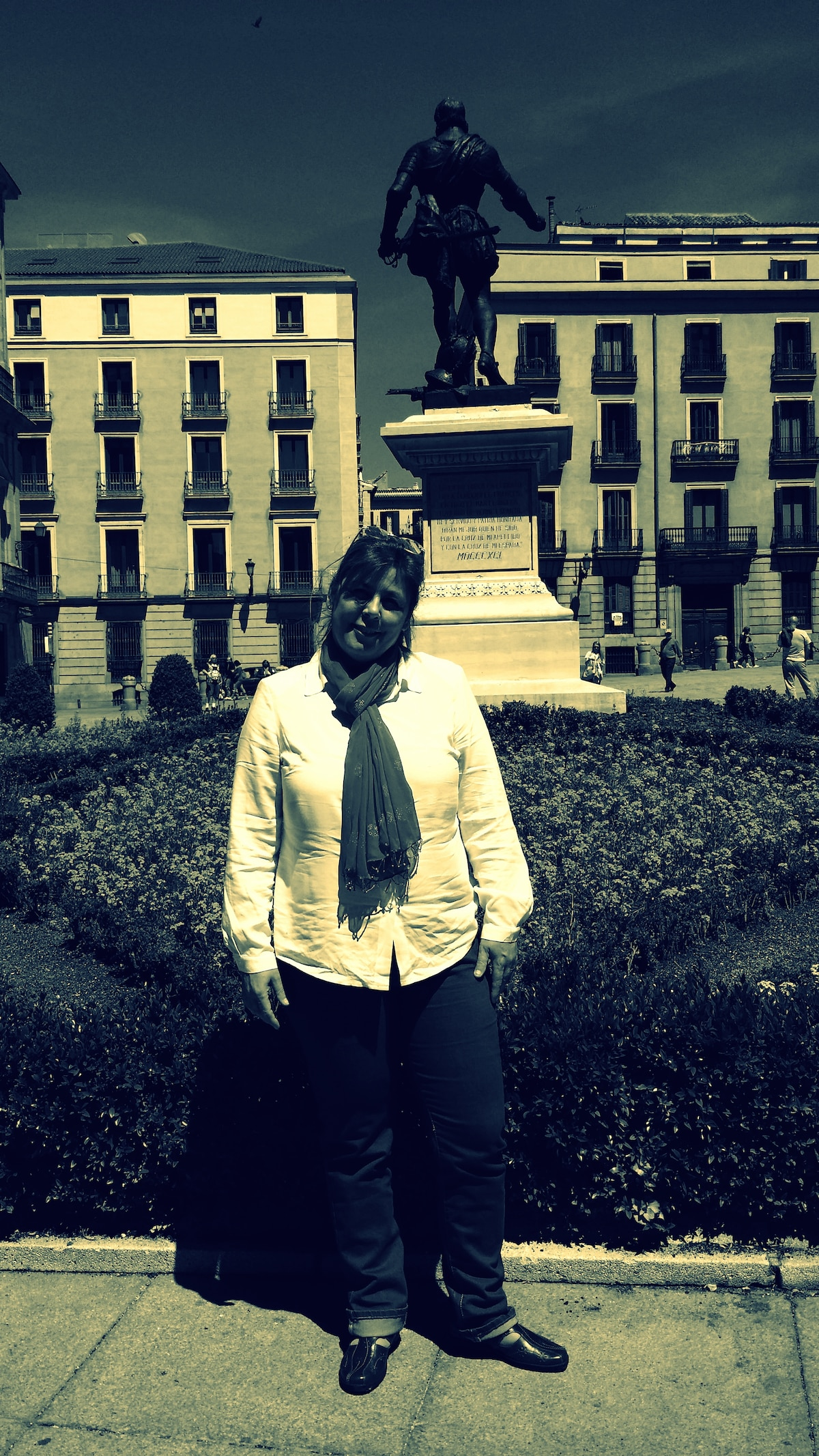 Im very happy, optimist..and open.