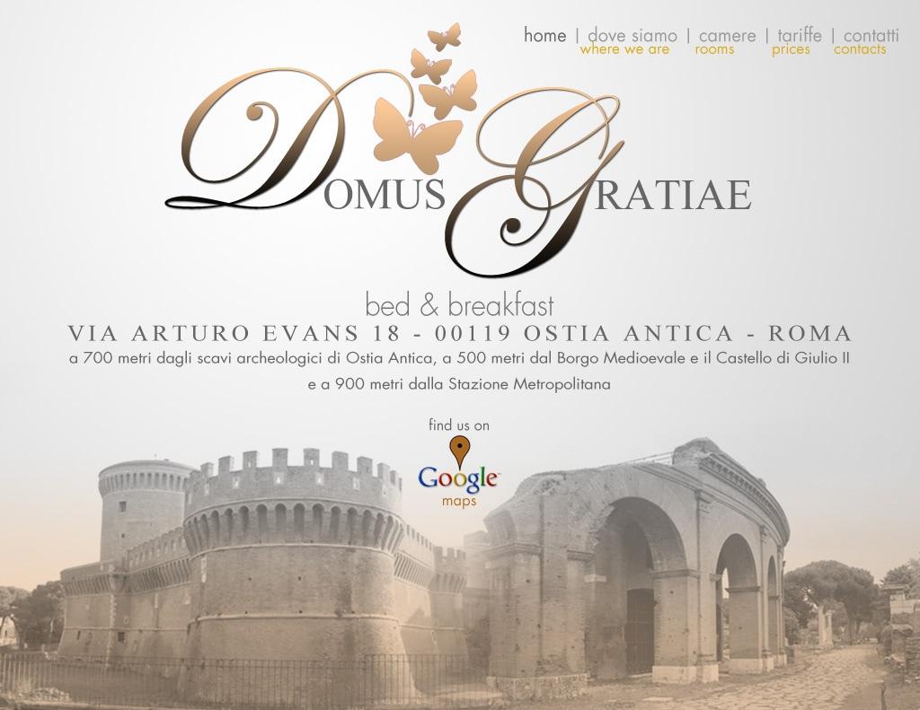Domus Gratiae From Ostia Antica, Italy