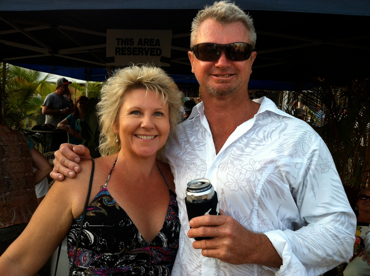 Donna & Scott from Peregian Beach