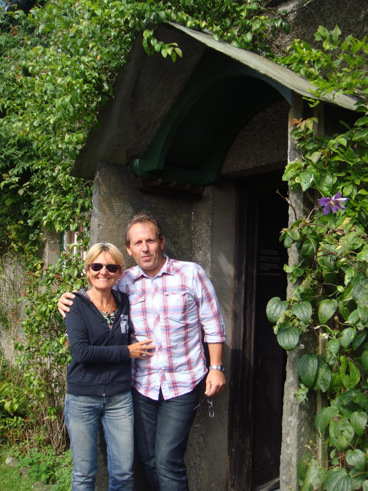 Joel Et Kate From Collioure, France
