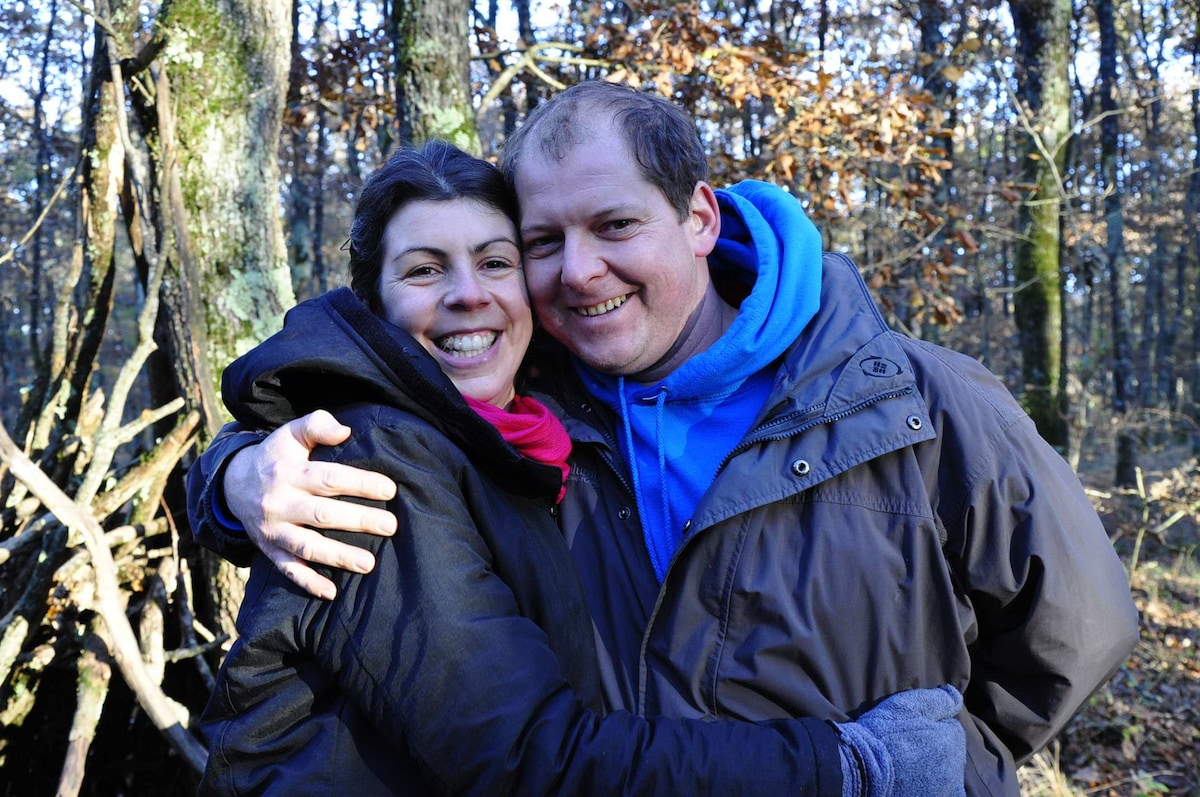 Florence Et Alain From Garrigues, France