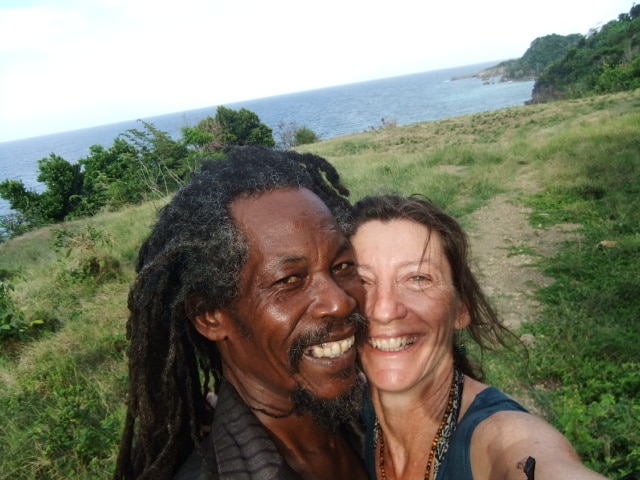 Rastaman Rev And Rini from Port Antonio
