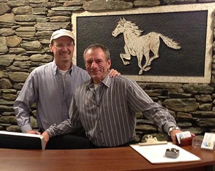 Bob Heffernan and Allen Zeiner purchased the White