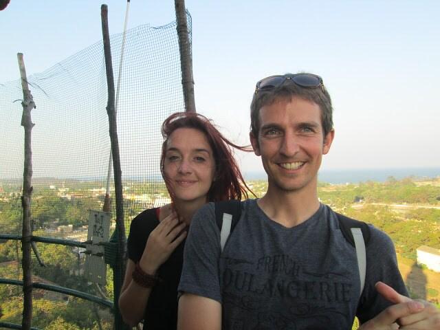 Alya& Etienne from Bishkek