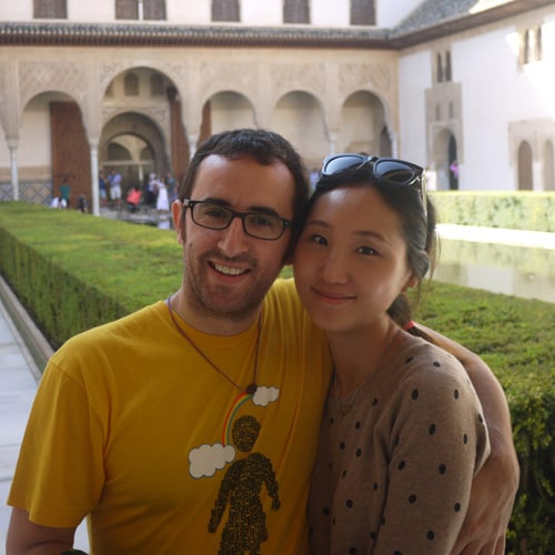 Mihyang & Juan Antonio from Madrid