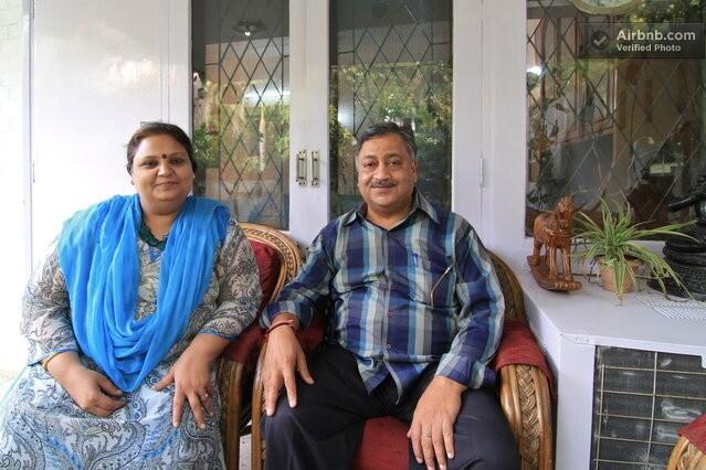 Purnima & Ajay from New Delhi