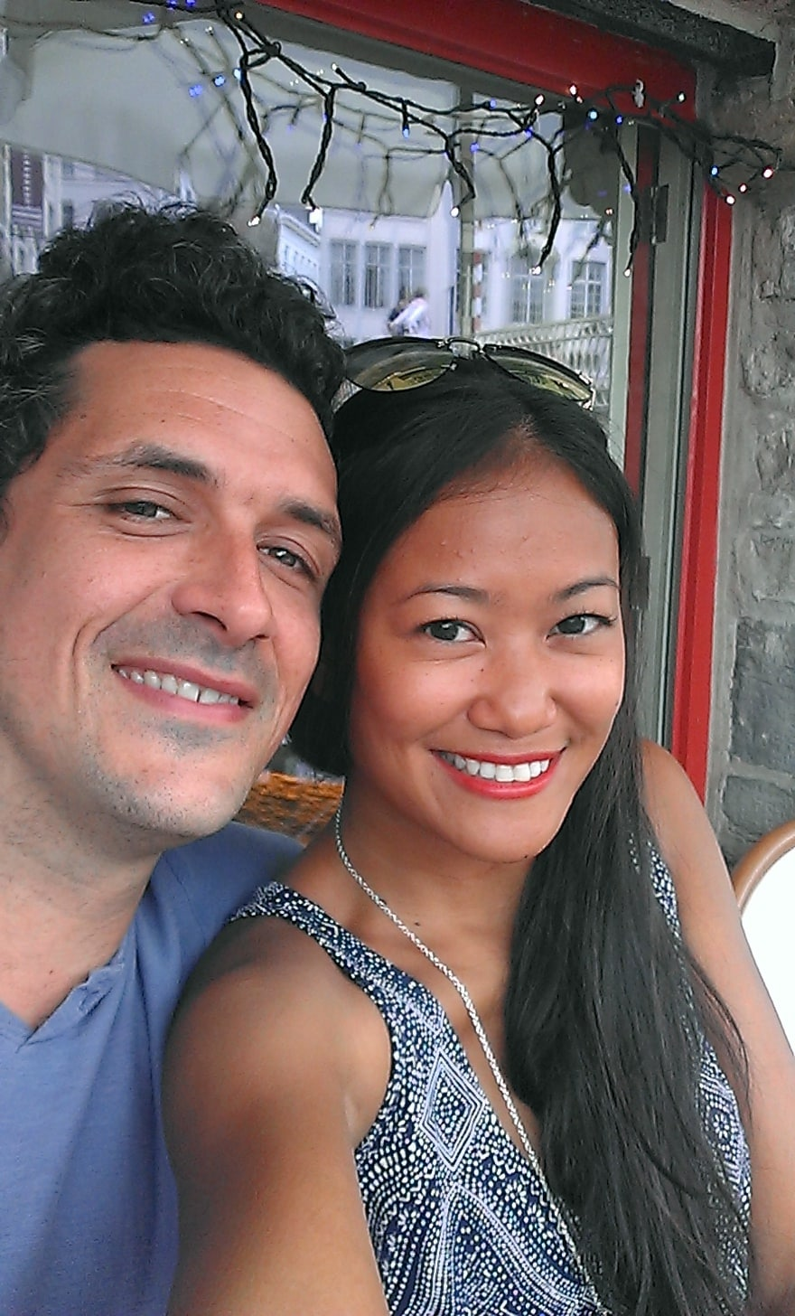 Young French-Thai couple, very welcoming and happy