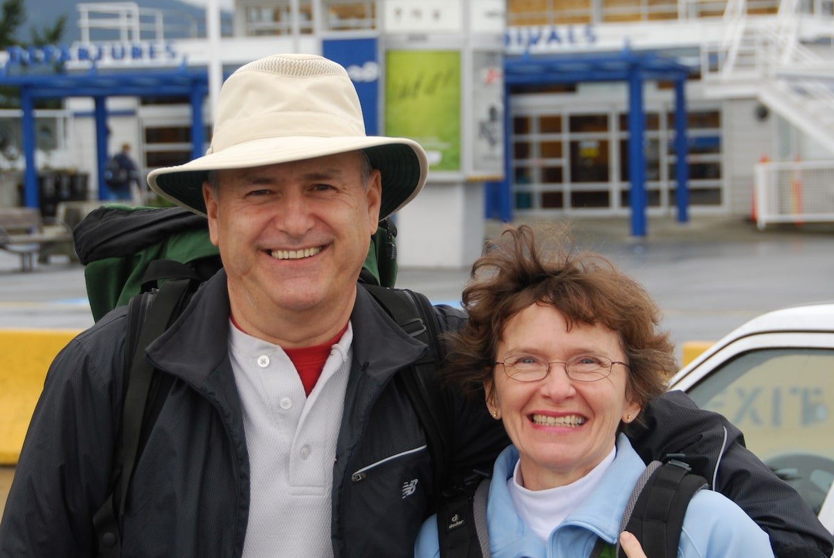 Norm & Pam from Sooke