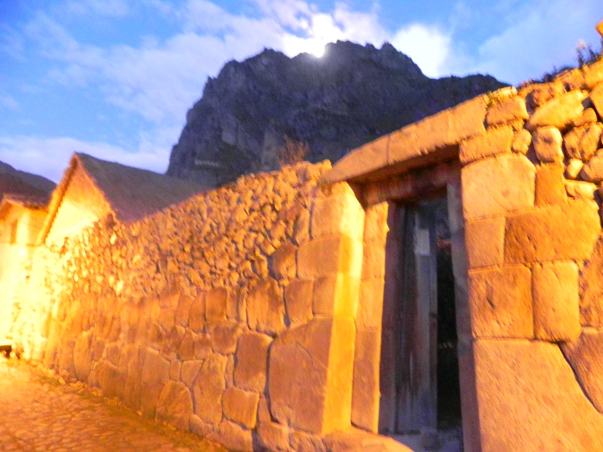 Casa De Wow!!! from Ollantaytambo