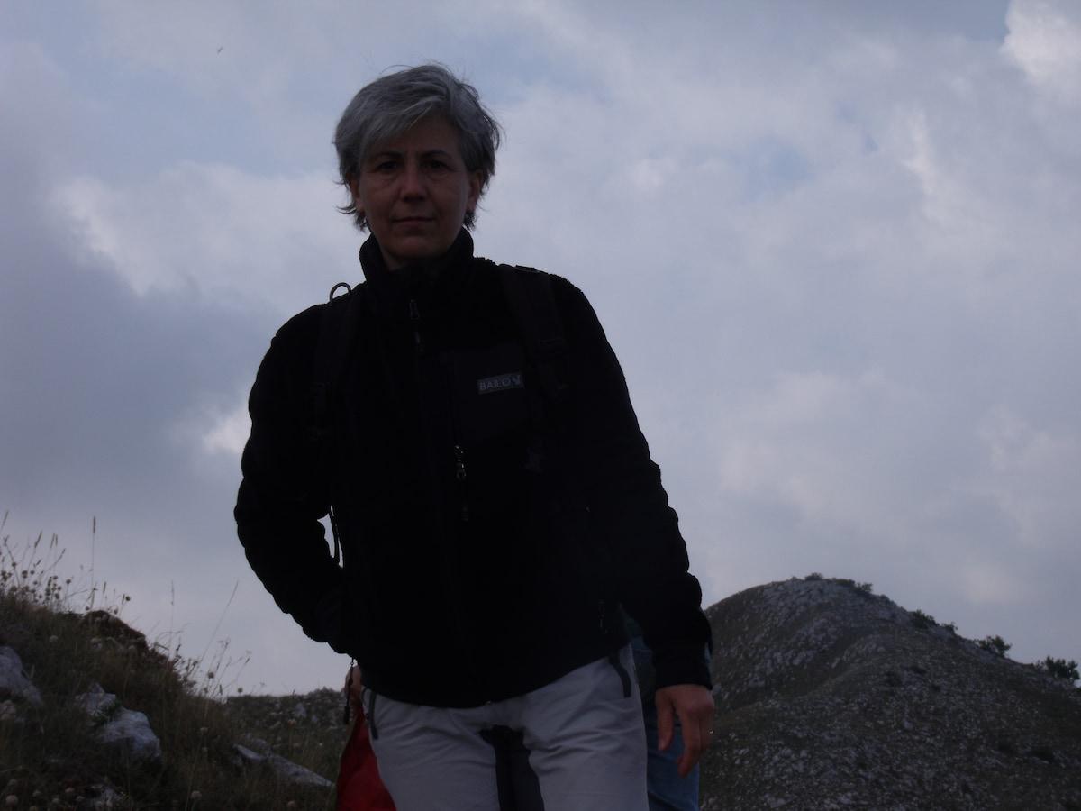 Maria Grazia From Pescasseroli, Italy