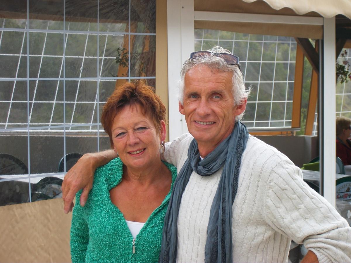 Wij zijn André en Herma. Tot voor kort woonden we