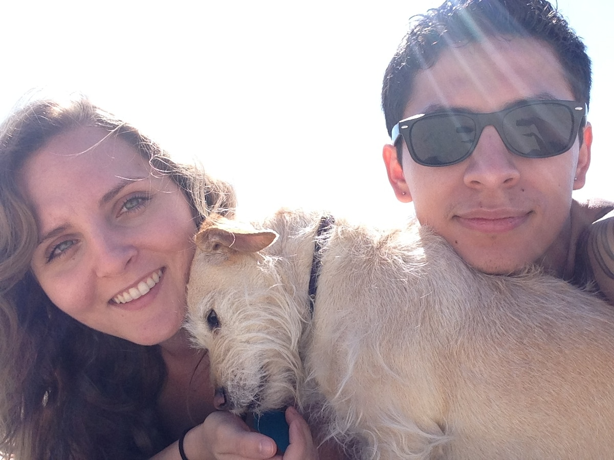 Victor And Brit From Los Angeles, CA