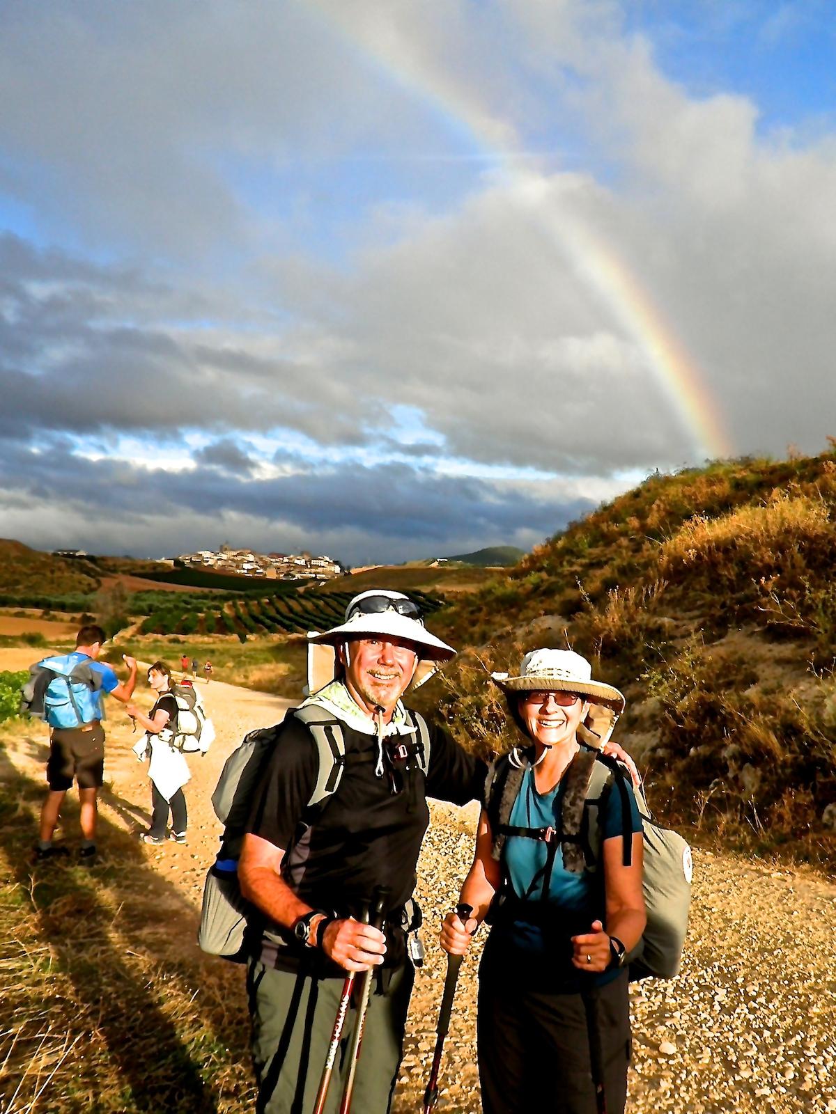 We enjoy traveling, hiking, backpacking, biking, r