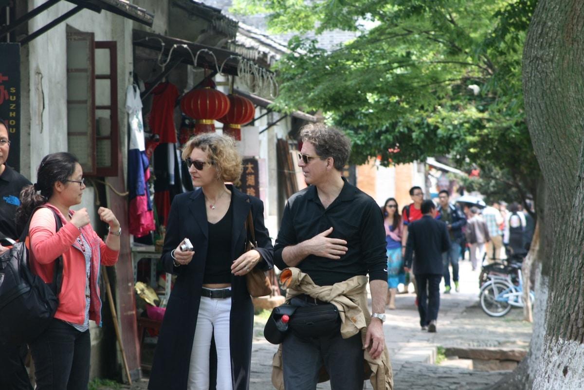 Michael & Sylvie from Paris