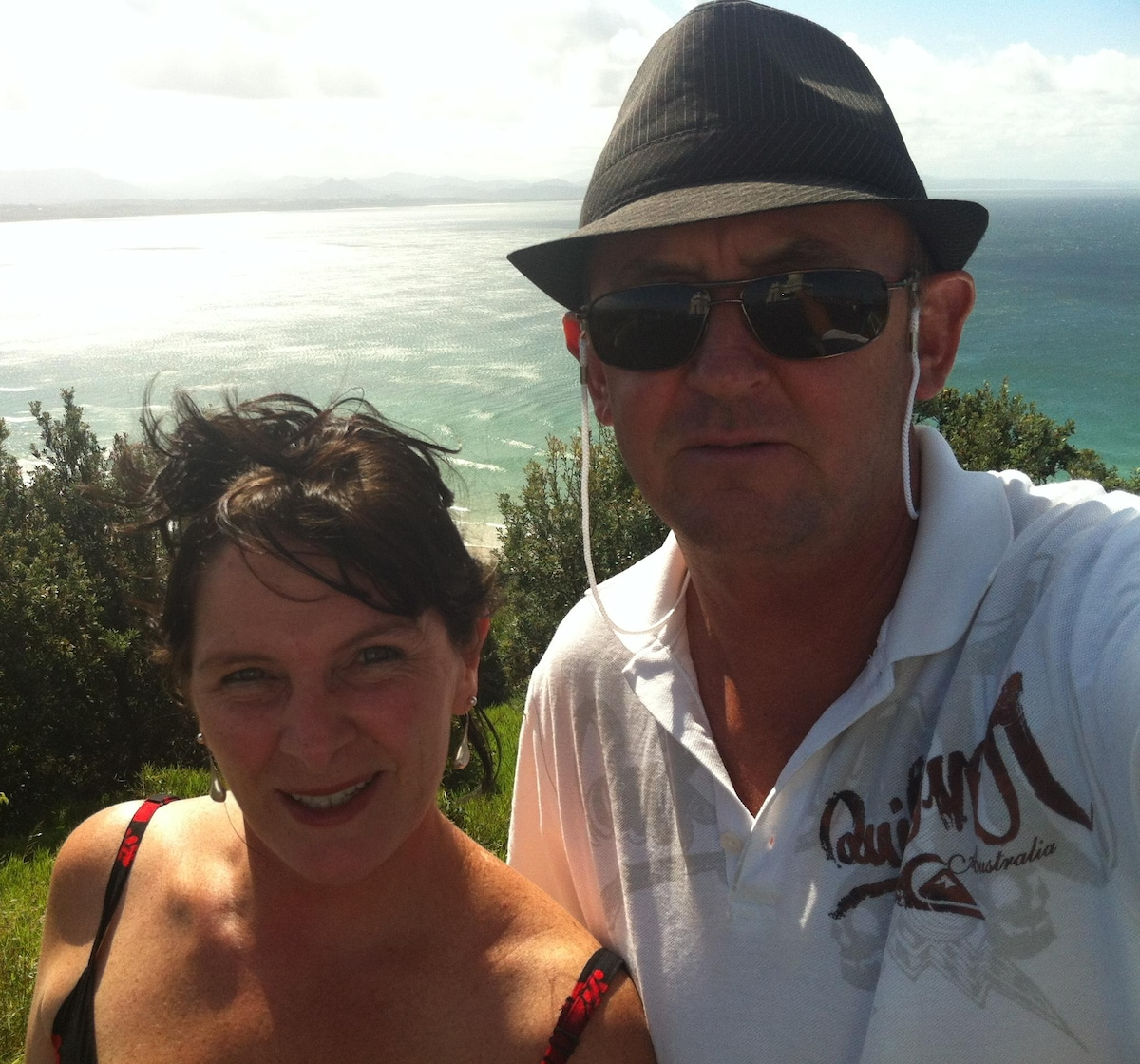 We are an easy going couple who enjoy travelling,