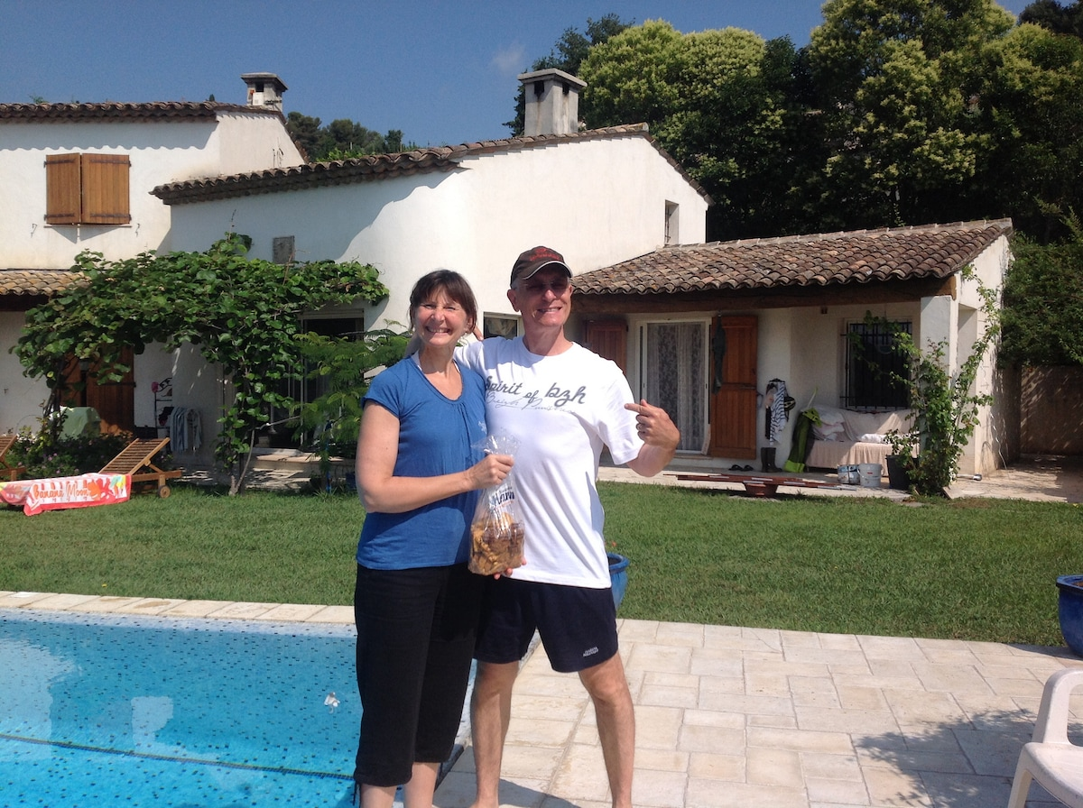 Emmanuelle & Philippe from Vence