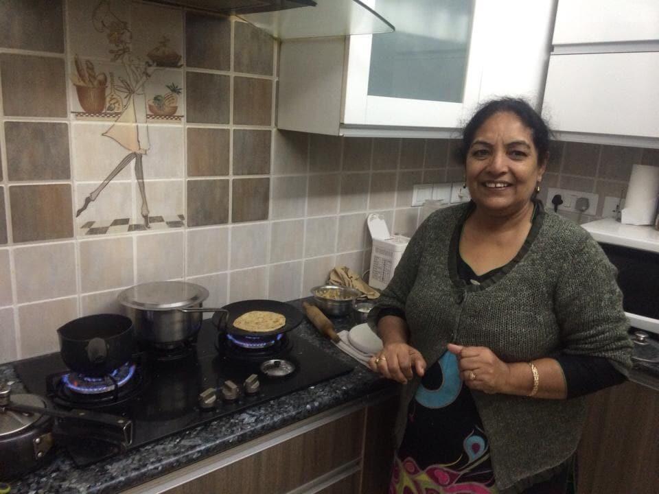 Hi ! I am a Punjabi housewife and and my son, Shub