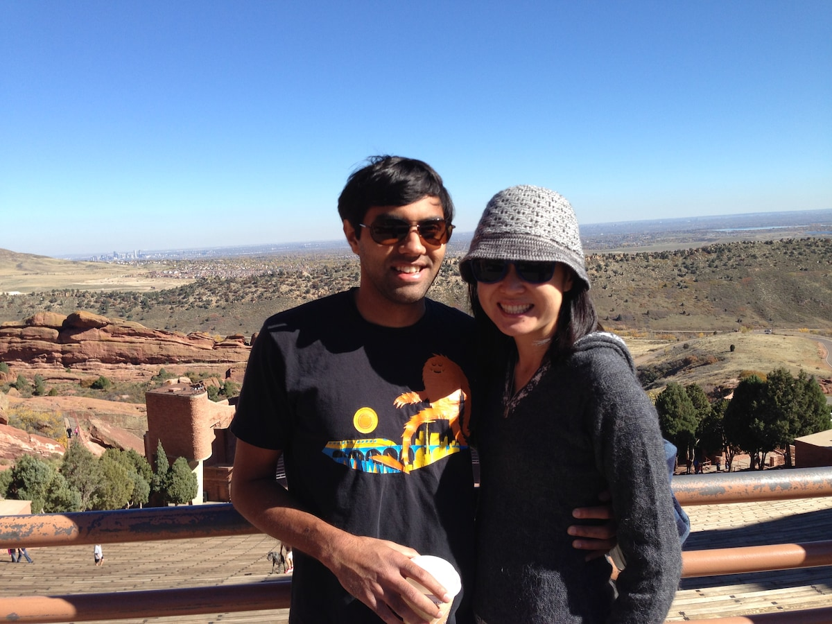 Julie And Ankit from Oakland