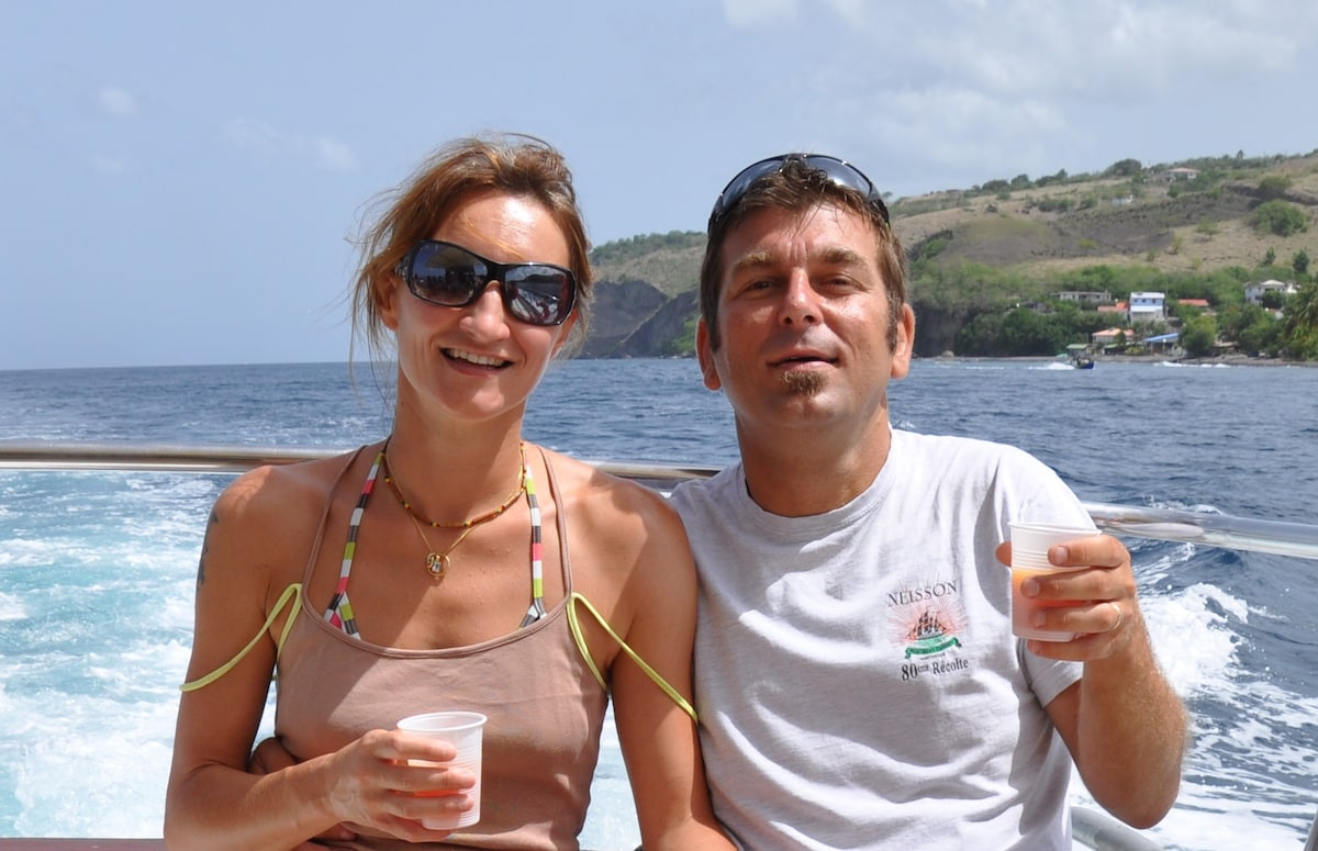 Céline & Thierry From Saint-Esprit, Martinique