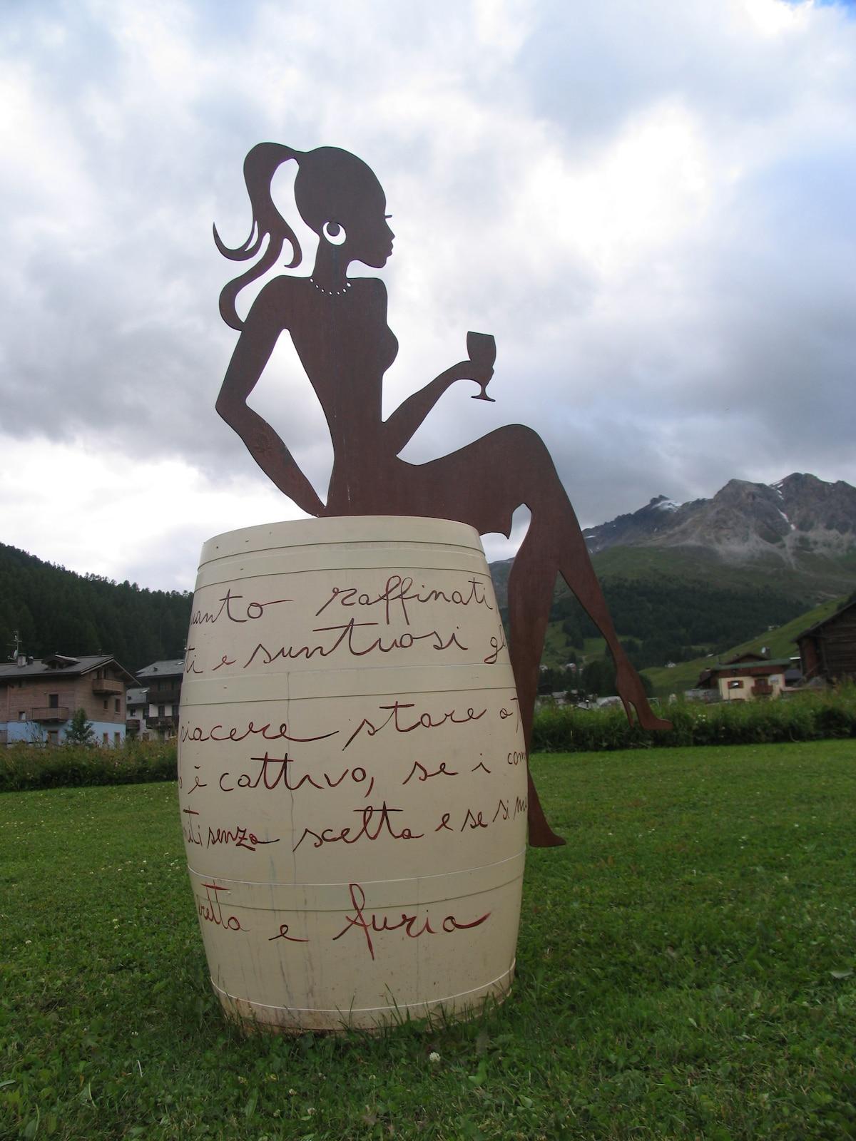 Vania From Saint Moritz, Switzerland
