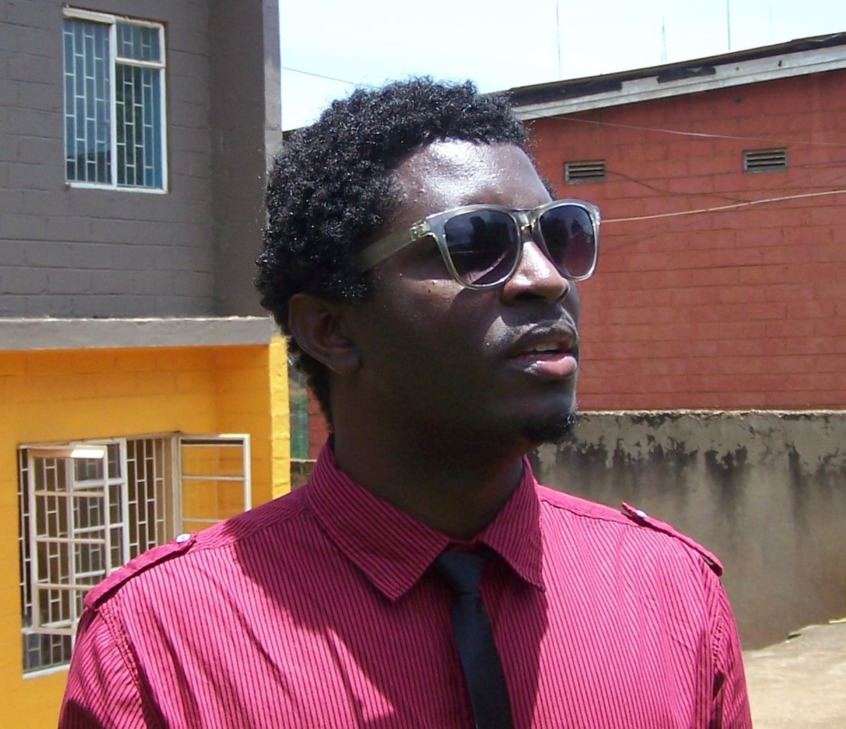 Collin from Kampala
