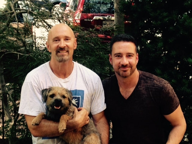 Chris, Along With Mark & Milo From Washington, DC