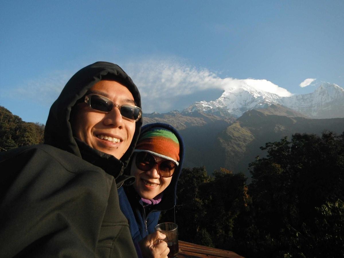 2 kids mama and papa, travel lovers :)
