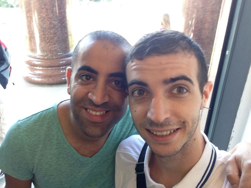Friendly gay couple living close to Tel Aviv. 
