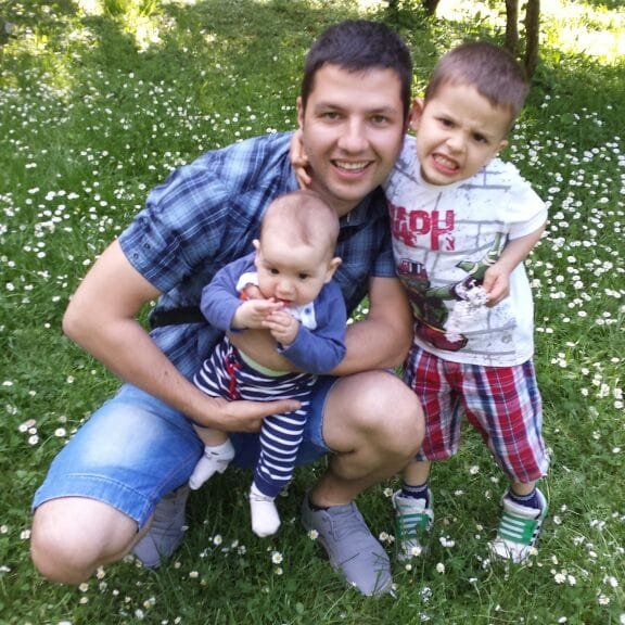 I am from Sarajevo, husband and father of two boys