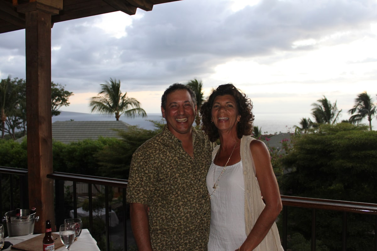 We are Gary & Marianne Callari - Living on Maui -