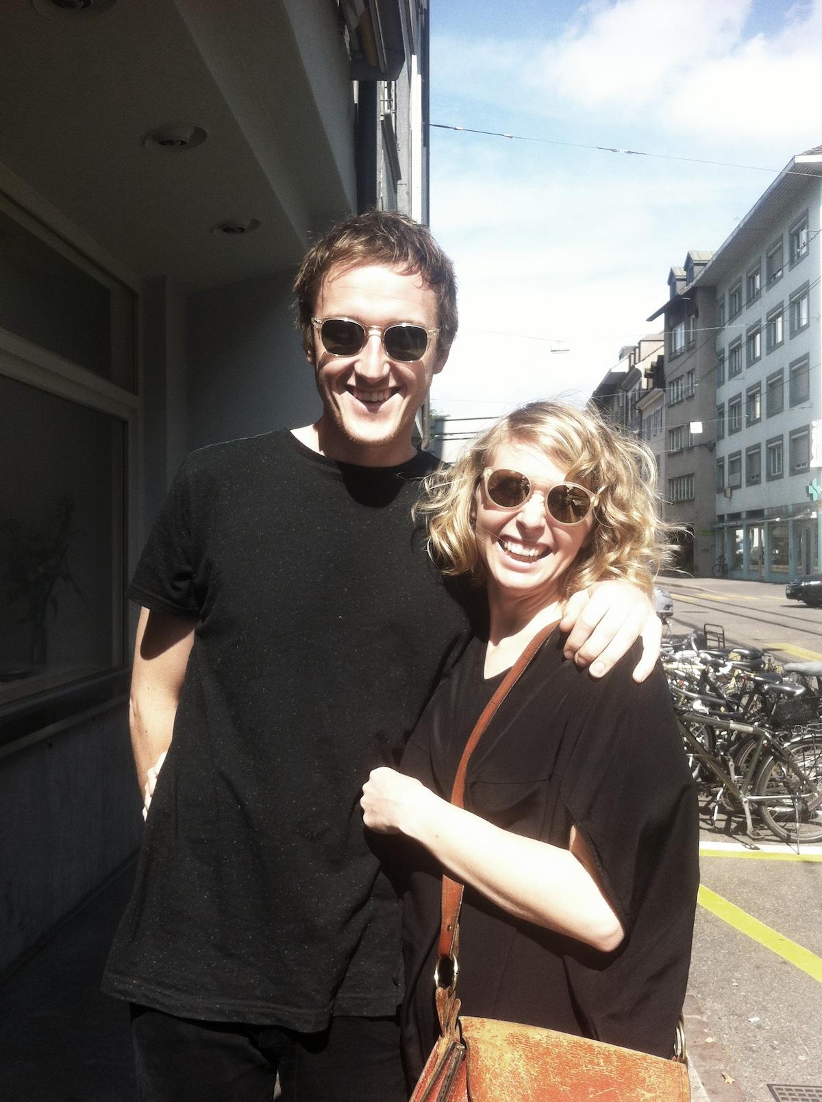 Liz & Alex from Hobart