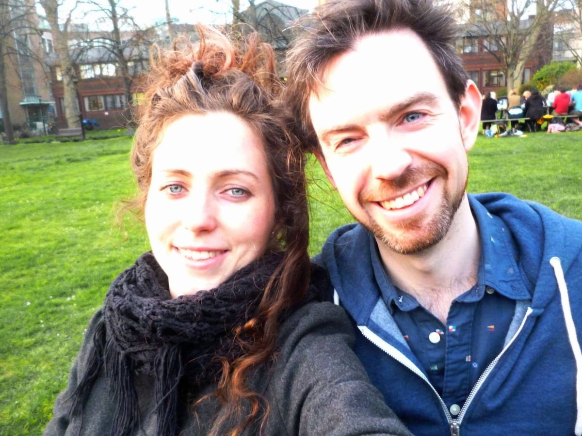 Dacey And Paul from London